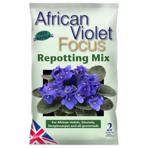 Growth Technology African Violet Repotting Mix Ziemia Do Fiołków Afrykańskich 2l