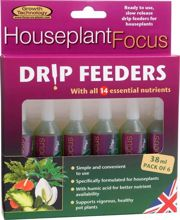 Growth Technology Houseplant Focus Drip Feeders 6x38ml- składniki odżywcze