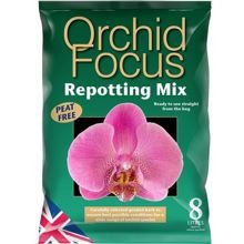 Growth Technology Orchid Repotting Mix 8L - ziemia do storczyków orchidei